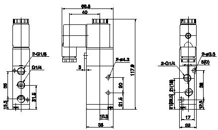 1 3 low power solenoid valve 1 plug valve wiring diagram